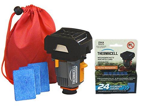 Thermacell Paket NEU Backpacker und Nachfüllpack BP-24 (24h)