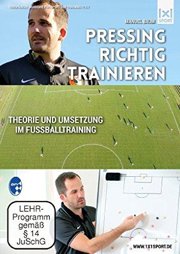 Fußballtaktik: Pressing richtig trainieren   Laufwege beherrschen, Bälle erobern, Konter verhindern