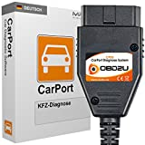 USB OBD KKL Diagnose Interface + Software CarPort PRO