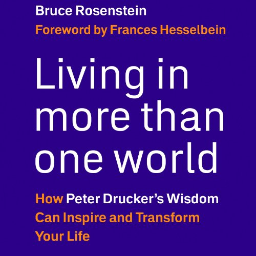 Living in More Than One World audiobook cover art