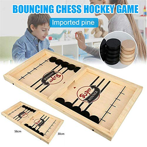 Toys Fast Sling Puck Game, Paced SlingPuck Winner Board Family Games