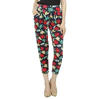 CAMEY Women Harem Pants with 2 Side Pockets