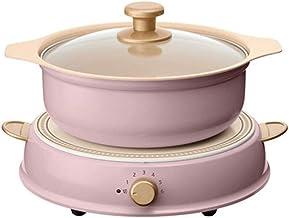 DYXYH Cuisinière à induction Hot Pot ménages multi-fonction en céramique antiadhésif Chauffage électrique Wok Cuisinière é...
