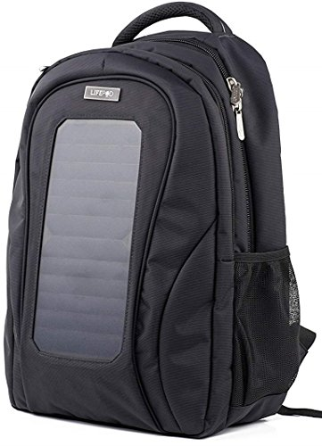 LifePod Backpack with Solar Panel and USB Port to Power All your Devices