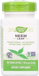 Nature's Way Neem Leaves 475 mg 100 Capsules
