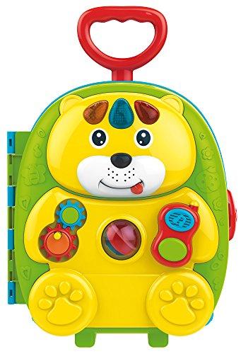 Lisciani Carotina Trolley Orsetto Portatutto 3 in 1 kind kinderen / meisjes educatief speelgoed (accu, AA, 410 mm, 210 mm, 470 mm, 3 stuks (S))