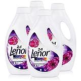 Lenor Colorwaschmittel Amethyst Blütentraum 935ml - Mit Farbschutz (4er Pack)