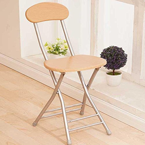 Preisvergleich Produktbild Heruai Innen-Büro Tisch Stuhl Falten Hocker Massivholz Schreibtisch Stühle Portable Angeln Hocker Outdoor Holz Bank Metall Stand Round Step Hocker Klappstühle ,  b