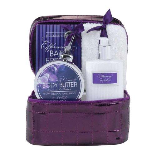 Body Therapy Workshop - Coffret de Bain Luxuries Collection Orchidée - Violet