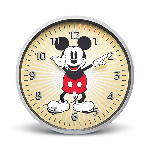 Echo Wall Clock – Disney Mickey Mouse Edition – see timers at a glance – requires compatible Echo device