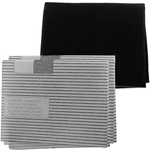 SPARES2GO Carbon + vetfilter Kit voor Zanussi afzuigkap