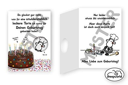 Geburtstagskarte - Du glaubst gar nicht - Torte - 19