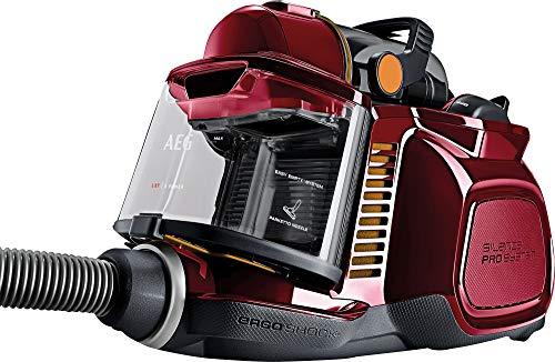 AEG LX7-2-CR-A Aspiradora Trineo Sin Bolsa, Especial Mascotas, Co, 750 W, 72 Decibeles, Rojo
