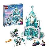 Lego Disney Princess 43172 Palacio mágico de hielo de Elsa, Juguete para construir, 6+