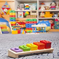Assanu 学校のおもちゃ屋の背景8×8フィートビニール写真の背景かわいい子供のおもちゃ木製の電車カラフルなおもちゃギフト学生幼児子供写真背景スタジオ