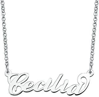 cecilia name necklace