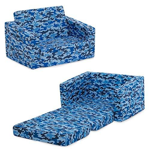 Delta Children Cozee Flip-Out Chair - 2-in-1...