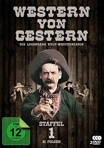Western von Gestern - Staffel 1 (21 Folgen) (Fernsehjuwelen) [3 DVDs]