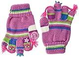 Döll Baby-Mädchen Fingerhandschuhe Strick Handschuhe, Rot (Cyclamen 2102), S (Herstellergröße: 3)