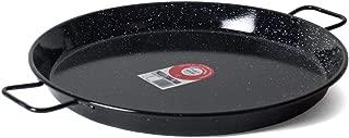 Garcima 18-Inch Enameled Steel Paella Pan, 46cm