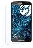 Bruni Schutzfolie kompatibel mit Motorola Droid Maxx 2 Folie, glasklare Bildschirmschutzfolie (2X)