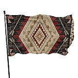 Bandera de jardín Patio al aire libre con ojales de latón Flecha occidental Southwest Native American Fly Flag Decoración interior del hogar