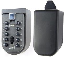Veiligheidsslot voor binnen en buiten, met druk op de knop, veiligheidsslot, aan de muur gemonteerd, voor verzorging/thuis...