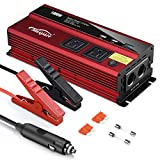 Maxpart 1000W Power Inverter Truck/RV Inverter 12V DC to 110V AC...