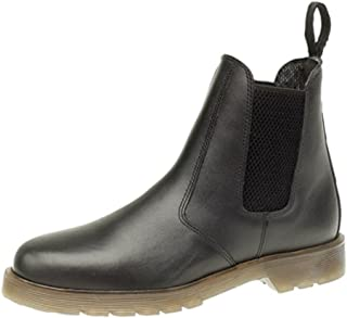 Grafters Leather Chelsea Dealer Boots. Air Cushion Soles.