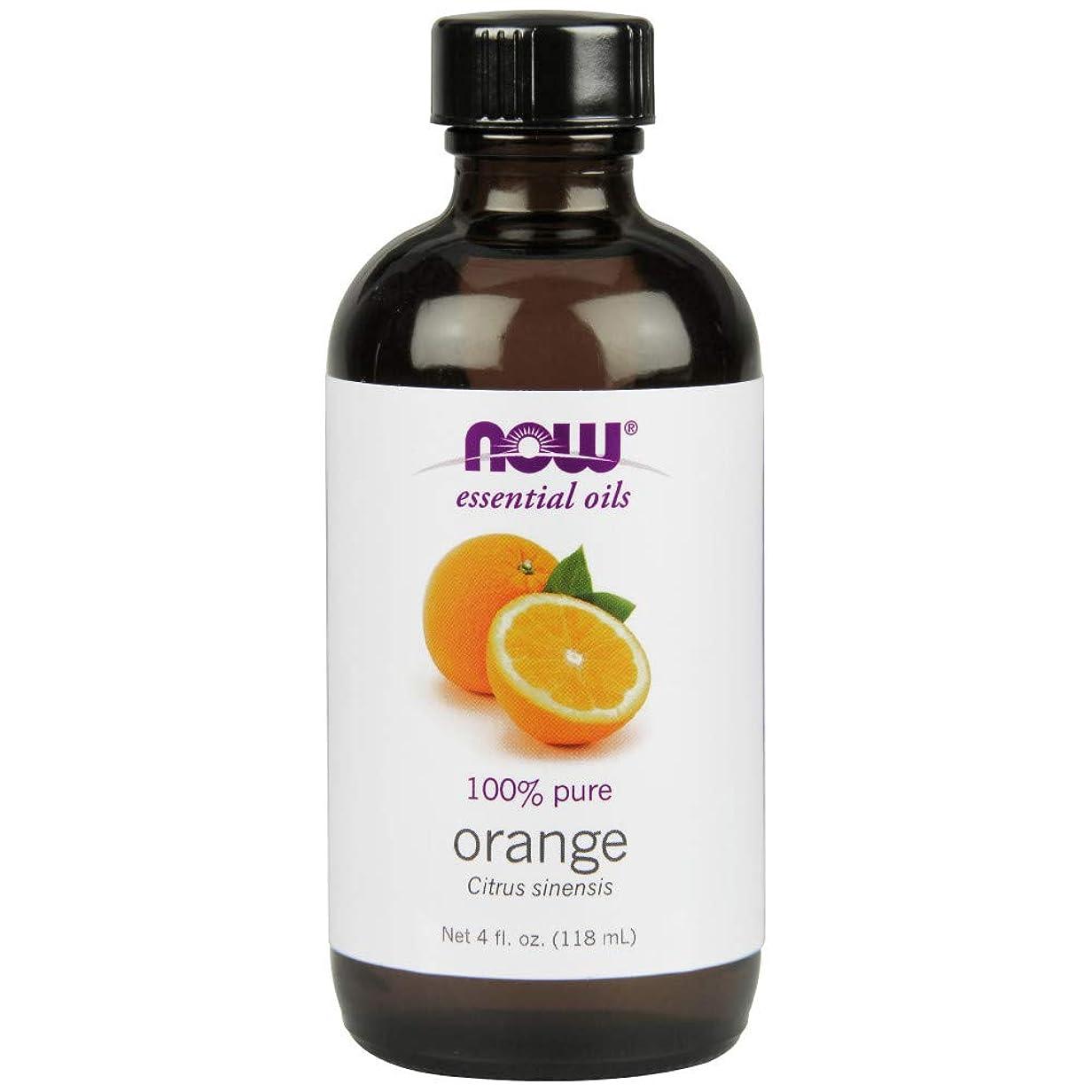 眠っているディスコ質量ナウフーズエッセンシャルアロマオイル オレンジ 118ml 【正規輸入品】