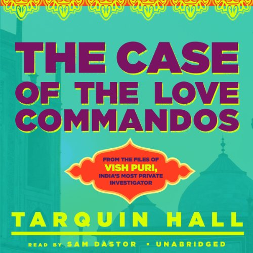 The Case of the Love Commandos audiobook cover art