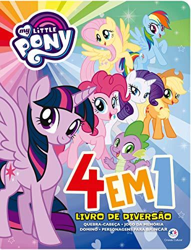 My Little Pony - 4 em 1 - Livro de diversão