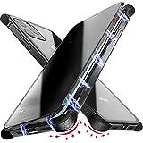 Custodia Magnetica Anti Peep Compatibile con iPhone 11 PRO Max, Silicone Rinforzato a 4 Angoli, Cover Vetro a Doppia Faccia, Protezione a Schermo Anti Spia e Paraurti Metallo Antiurto Privacy Case