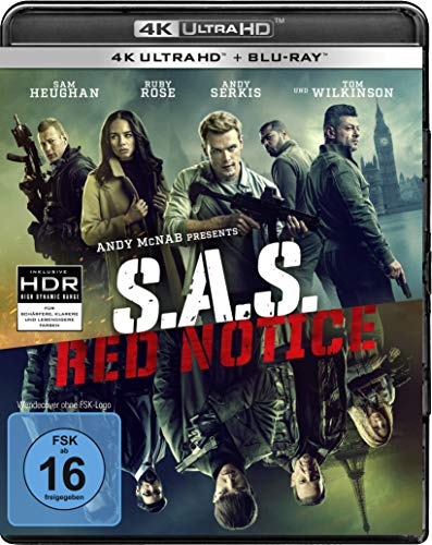 S.A.S. Red Notice (4K Ultra HD) (+ Blu-ray 2D)
