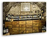 deyoli Alter Weinkeller in Burgund im Format: 80x60 als