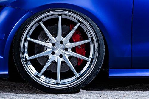 20' Inch Ferrada FR4 Silver Machine/Chrome Lip Concave Wheels Rims | Set of 4 | Fits INFINITI Q50 SEDAN