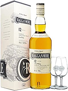 Cragganmore 12 Jahre Single Malt Whisky 0,7 Liter  2 Classic Malt Tasting Gläser