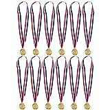Juvale - Medaglie d'oro per nuotare, confezione da 12 medaglie premio per il nuotatore, 5 ...