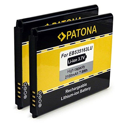PATONA 2X Bateria EB535163LU Compatible con Samsung Galaxy Grand i9080 Neo i9060...