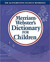 Merriam-Webster's Dictionary for Children, Newest Edition, Trade Paperback PDF