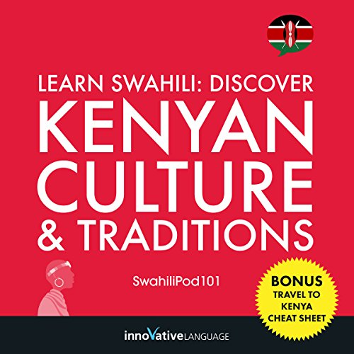 Learn Swahili audiobook cover art