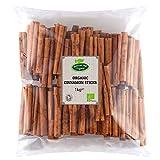 Palitos de canela auténtica orgánica 1kg de Hatton Hill
