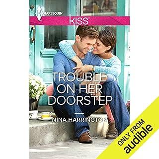 Trouble on Her Doorstep audiobook cover art