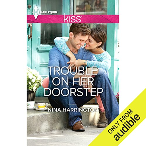 Trouble on Her Doorstep audiobook cover art