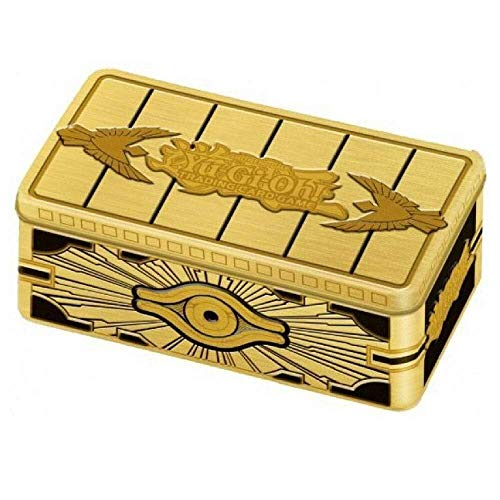 Lively Moments Yu-Gi-Oh! Karten Gold Sarcophagus Tin Box DE Deutsch / Metallbox Yu Gi Oh Special Edition
