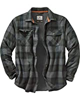 Legendary Whitetails Men's Archer Thermal Lined Shirt Jacket (Balsam Shadow Plaid, X-Large)