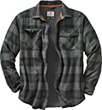 Legendary Whitetails Men's Archer Thermal Lined Flannel Shirt Jacket, Balsam Shadow Plaid, Medium