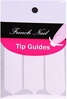 JOVANA Nail Art Designs French, Chevron & Teardrop Nail Tip Guides Stickers