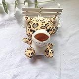 N / A Niedliche gefüllte Puppe Dschungel Bruder Tiger Elefant AFFE Löwe Giraffe Plüschtier Spielzeug Kinder 10cm