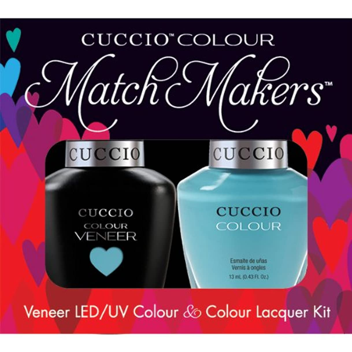 予約詐欺師頼むCuccio MatchMakers Veneer & Lacquer - Make a Wish in Rome - 0.43oz / 13ml Each